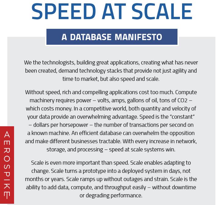 Database Manifesto